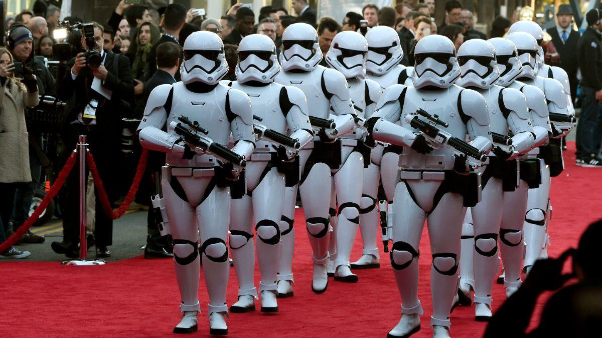 Imagen del preestreno de 'Star Wars: el despertar de la fuerza» en Los Ángeles (Fotos: Getty)