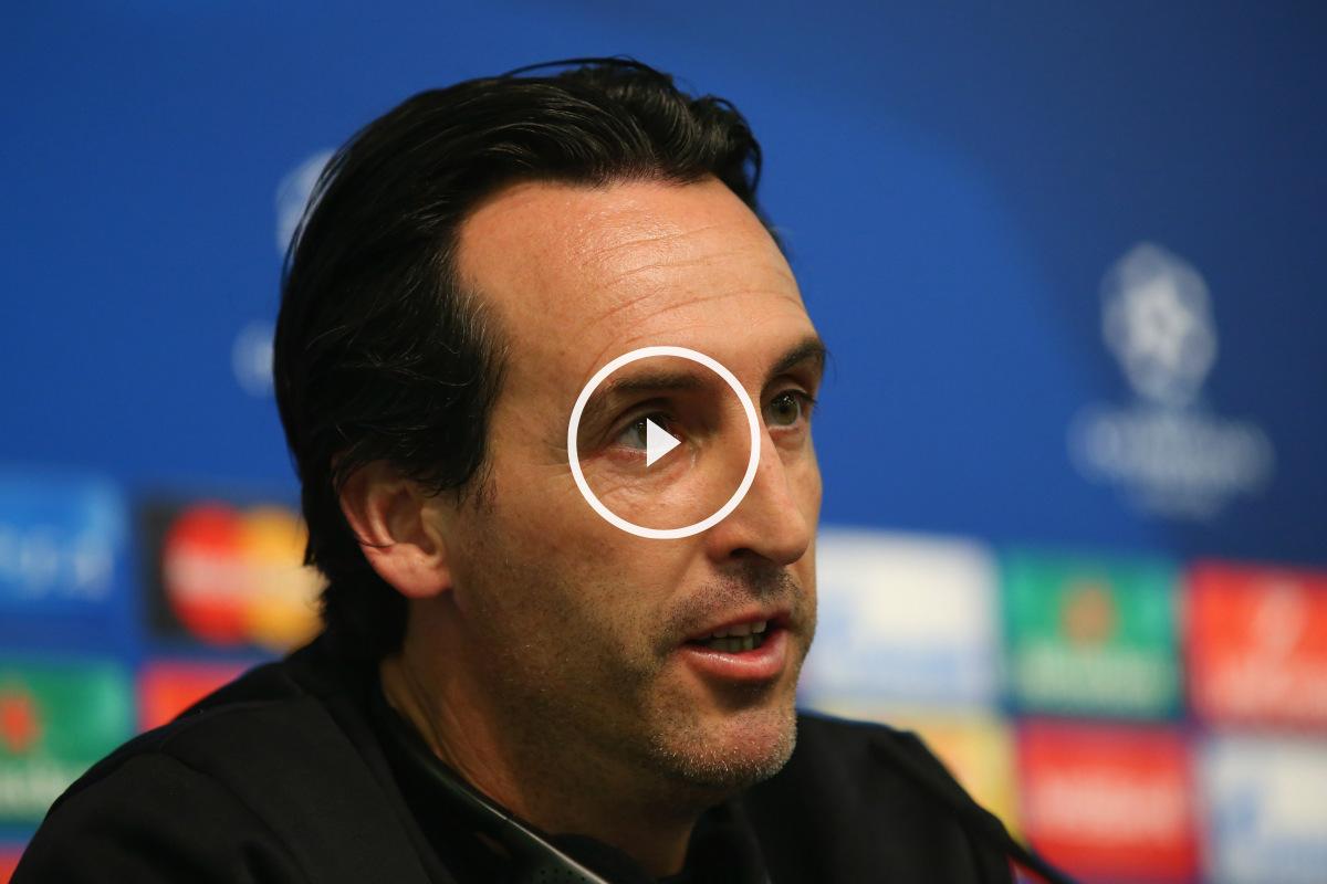 Unai Emery quiere que el Sevilla dé el máximo contra la Juventus.