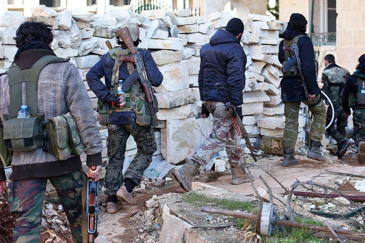 Combatientes de Estado Islámico en Siria. (Foto: Getty)