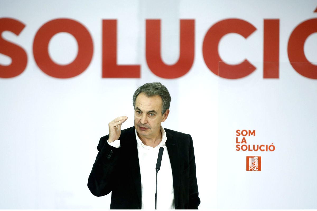 José Luis Rodríguez Zapatero. (Foto: EFE)