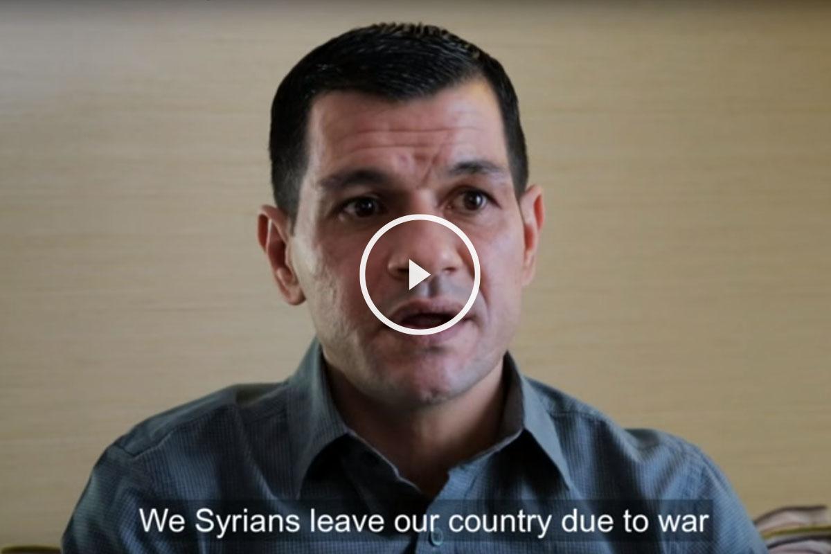 Abdullah Kurdi, padre del pequeño Aylan.