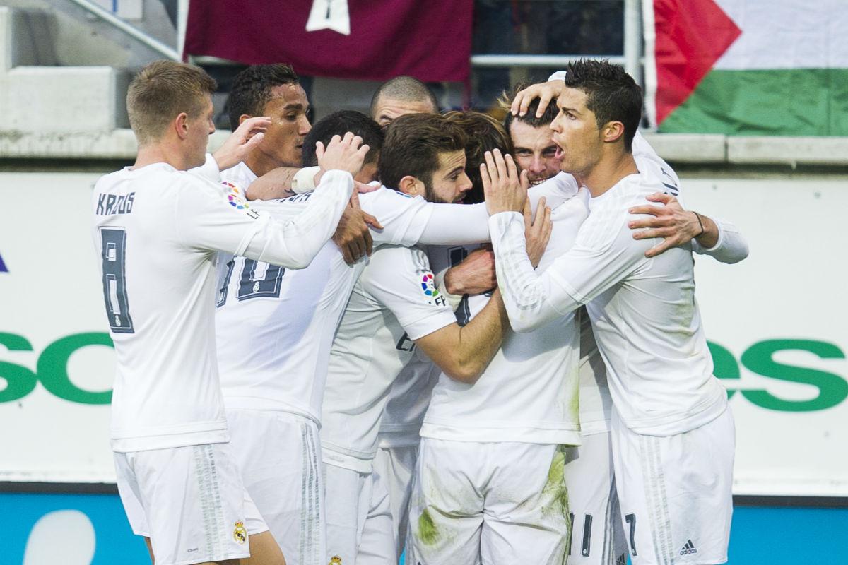 La alineación oficial del Real Madrid (Getty)