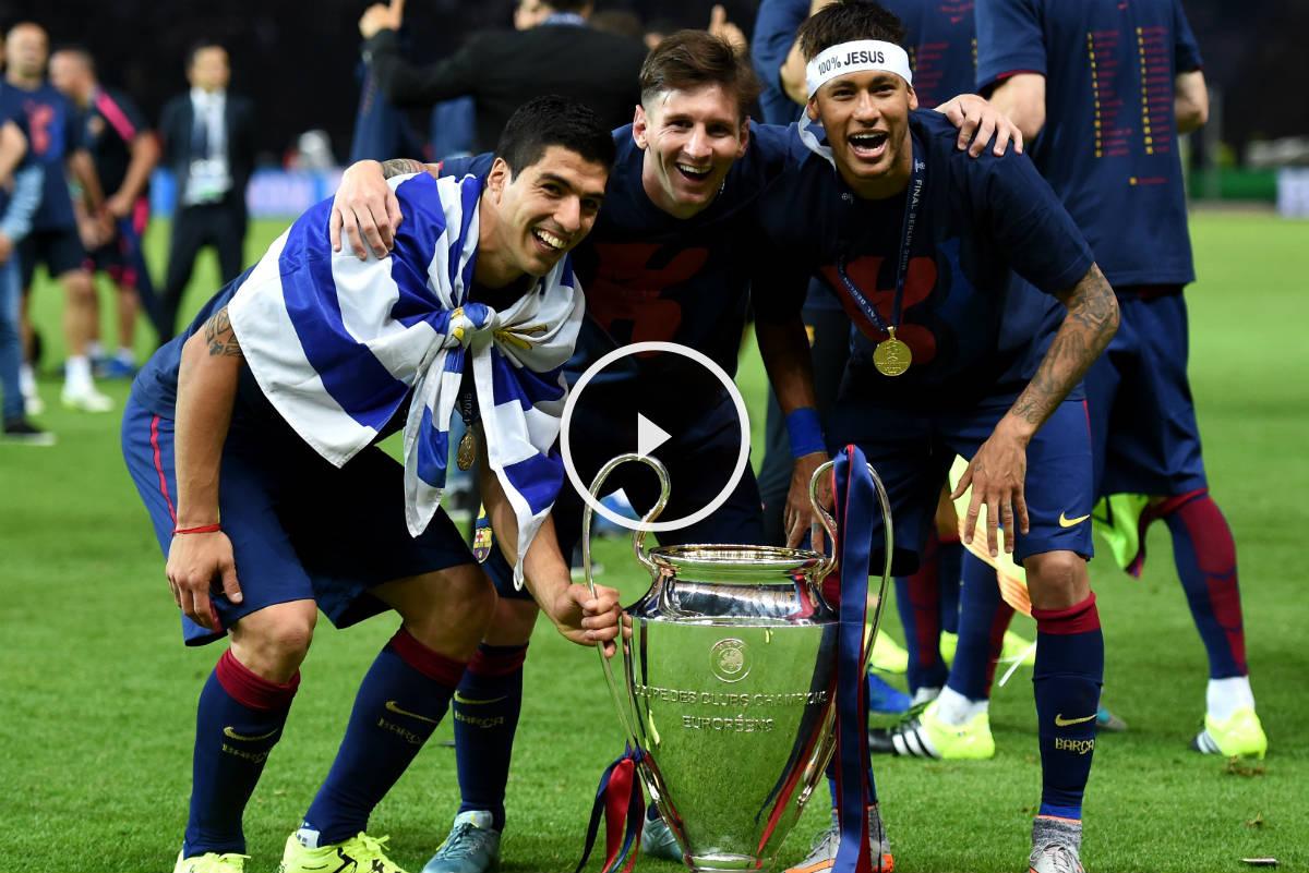 El Barcelona cierra un gran 2015. (Getty)