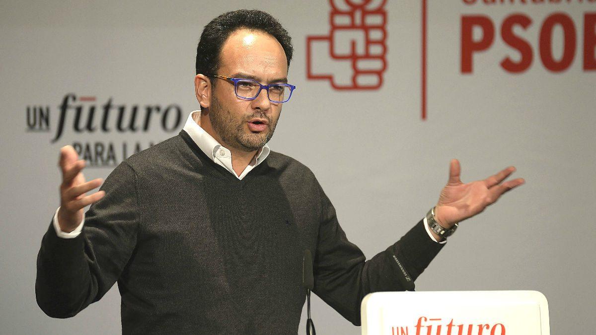 El portavoz del PSOE en el Congreso, Antonio Hernando (Foto: Efe)
