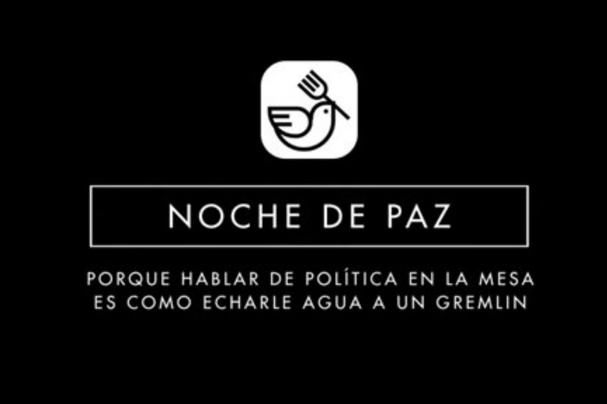 Aplicación «Noche de paz».