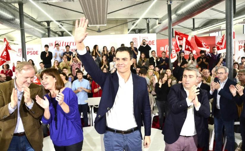 Pedro Sánchez-PSOE-Mariano Rajoy-PP-Ciudadanos