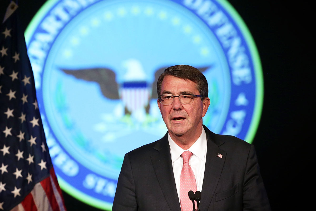 Ashton Carter, secretario de Defensa de Estados Unidos. (Foto: AFP)