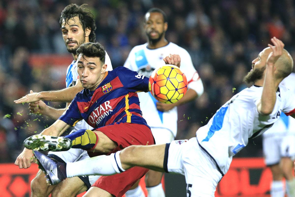 El Barcelona se dejó los primeros puntos en el Camp Nou esta temporada (AFP)