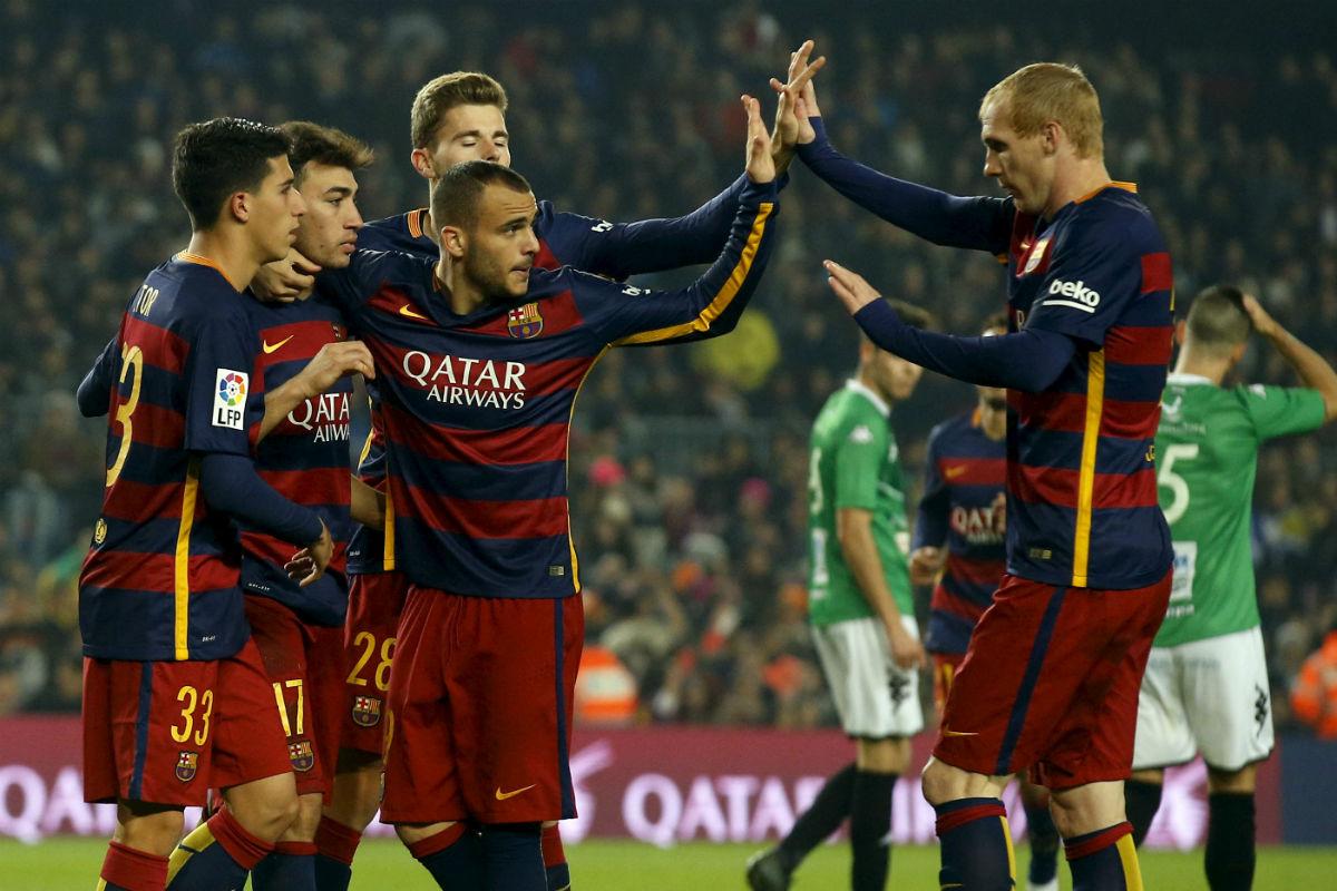 El Barcelona goleó al Villanovense (Reuters)