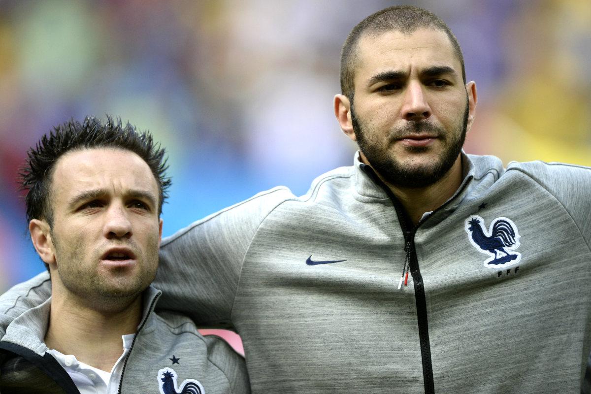 Benzema y Valbuena confían en regresar a la selección (AFP)
