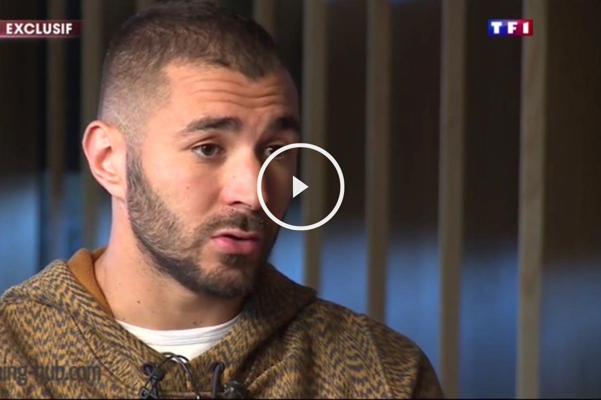 Benzema, en una entrevista con la TF1
