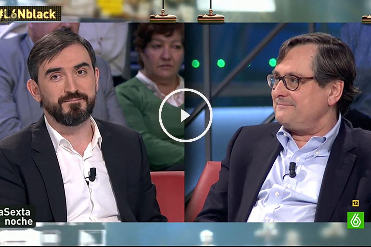 Ignacio Escolar y Francisco Marhuenda.