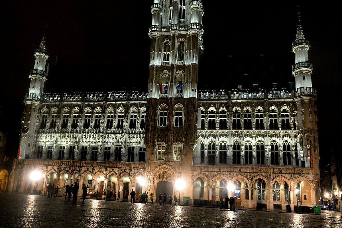 Imagen de la Gran Plaza de Bruselas. (Foto: Getty)