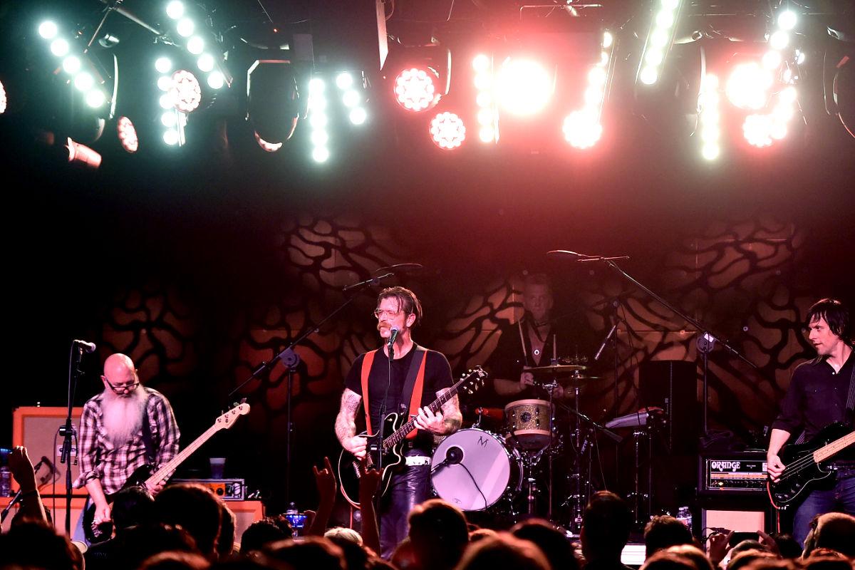 Imagen del grupo británico durante uno de sus conciertos. (Foto: Getty)