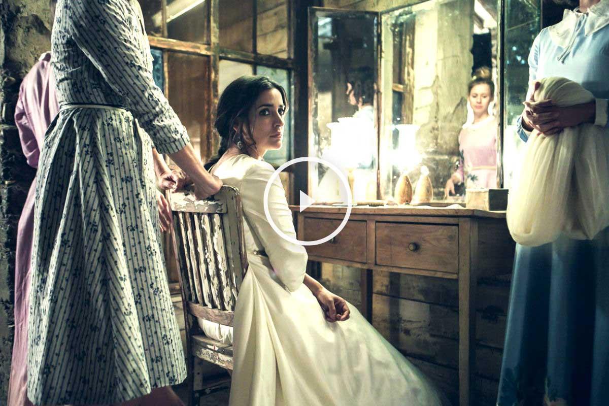 Escena de la película 'La novia' protagonizada por Imma Cuesta