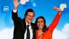 Alicia Sánchez Camacho junto a Mariano Rajoy. (Foto: Getty)