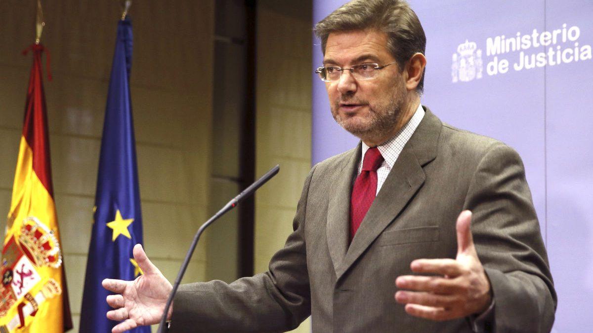 Rafael Catalá en una reciente imagen (Foto: Efe).