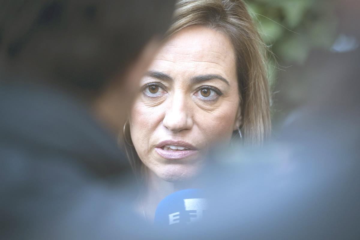 Carme Chacón, candidata del PSC para el 20D