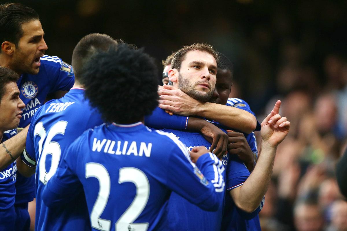 Ivanovic hizo el primer tanto del Chelsea ante el Sunderland (Getty)