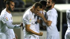 Cheryshev celebra el gol ante el Cádiz (AFP)