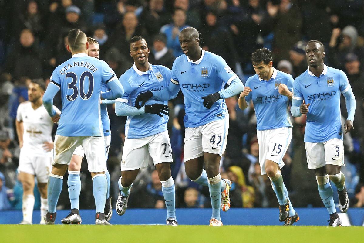Yaya Touré dio el triunfo al City en el descuento (Reuters)