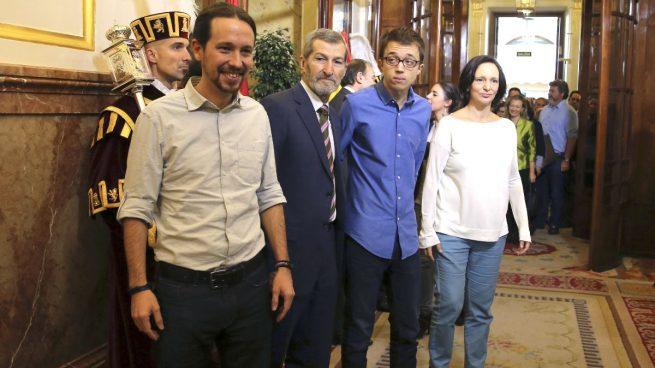 El Supremo pide al Congreso que acredite que Iglesias y Errejón son aforados para procesarles