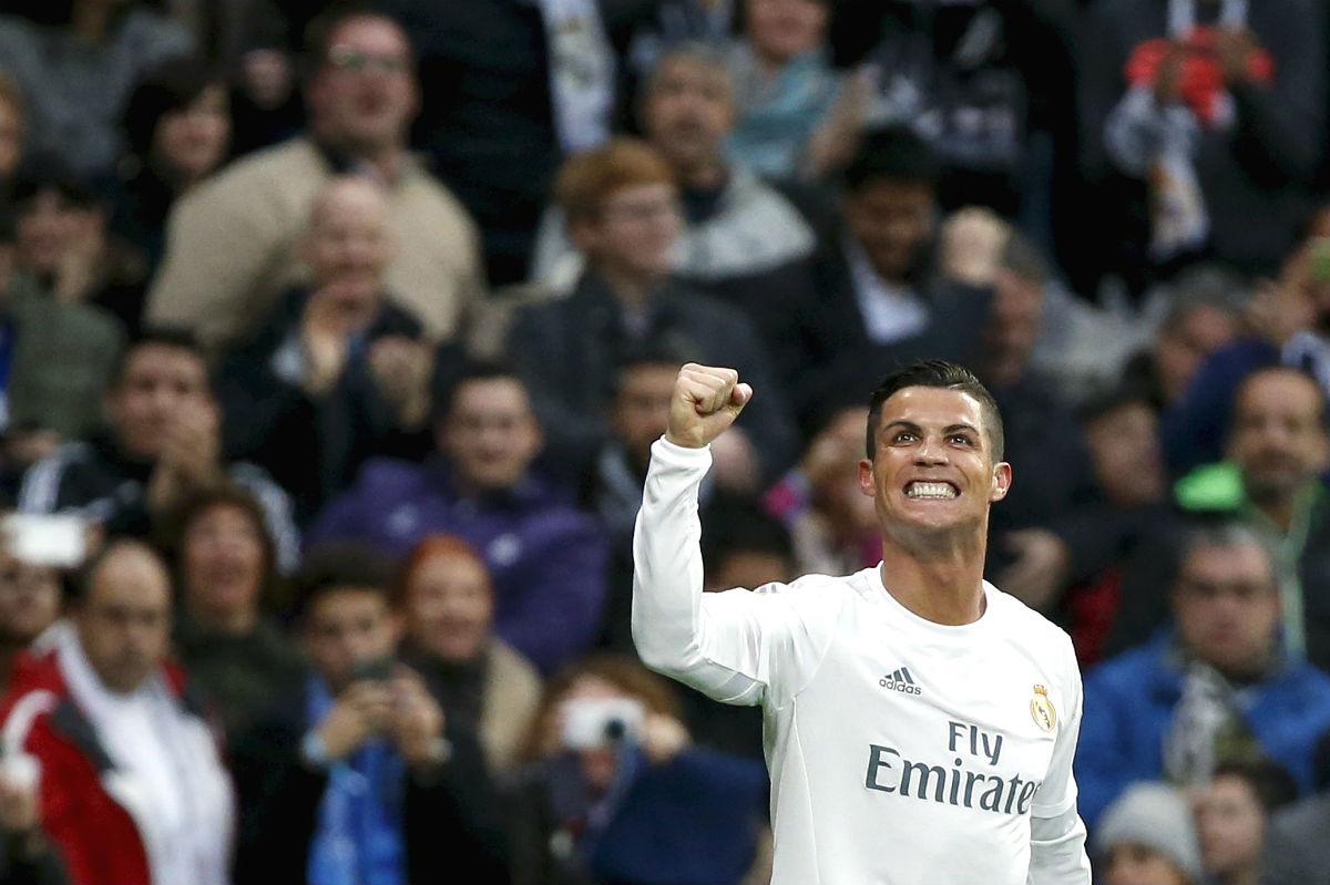 Cristiano celebra el segundo tanto del Real Madrid. (Reuters)