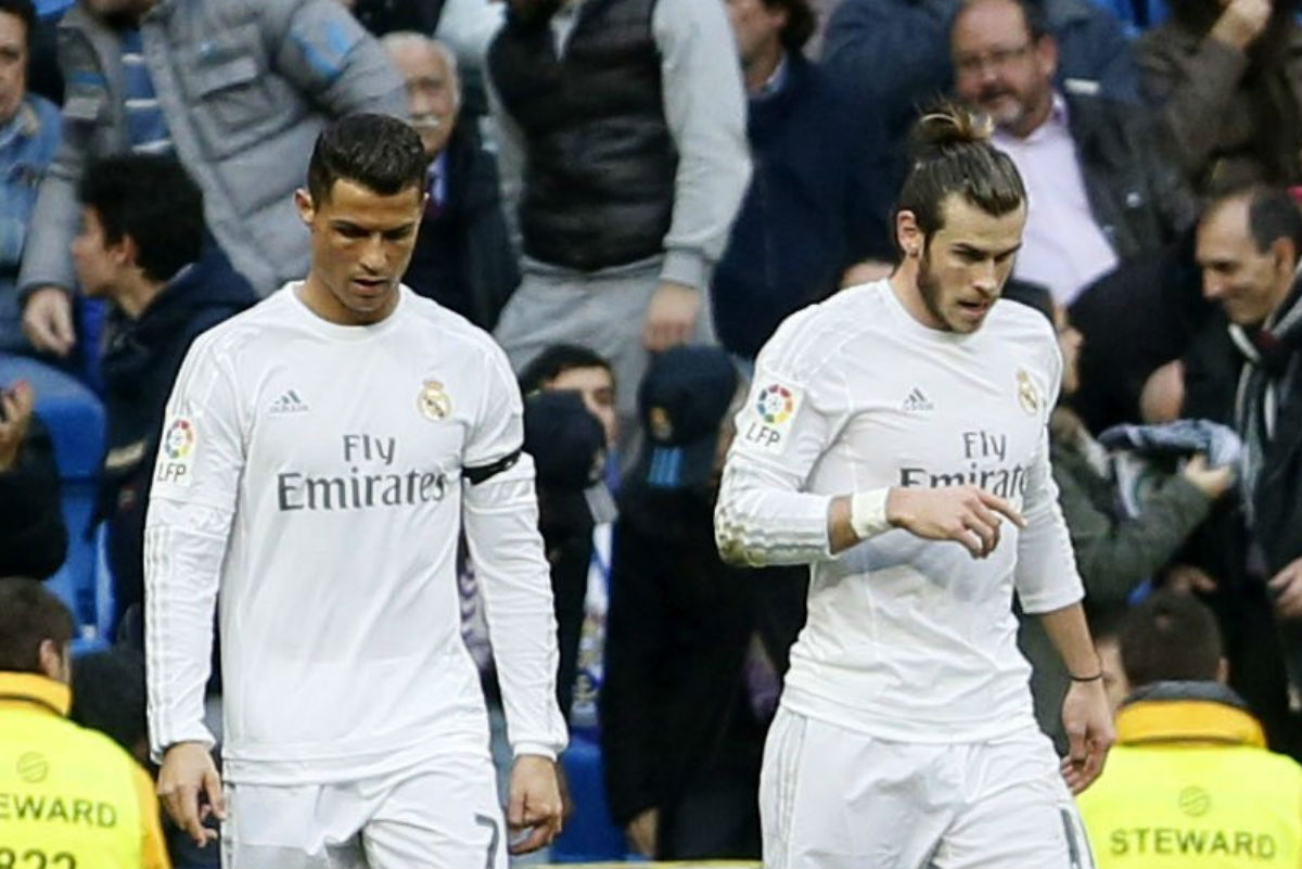 Cristiano Ronaldo no ocultó su enfado cada vez que marcó Bale