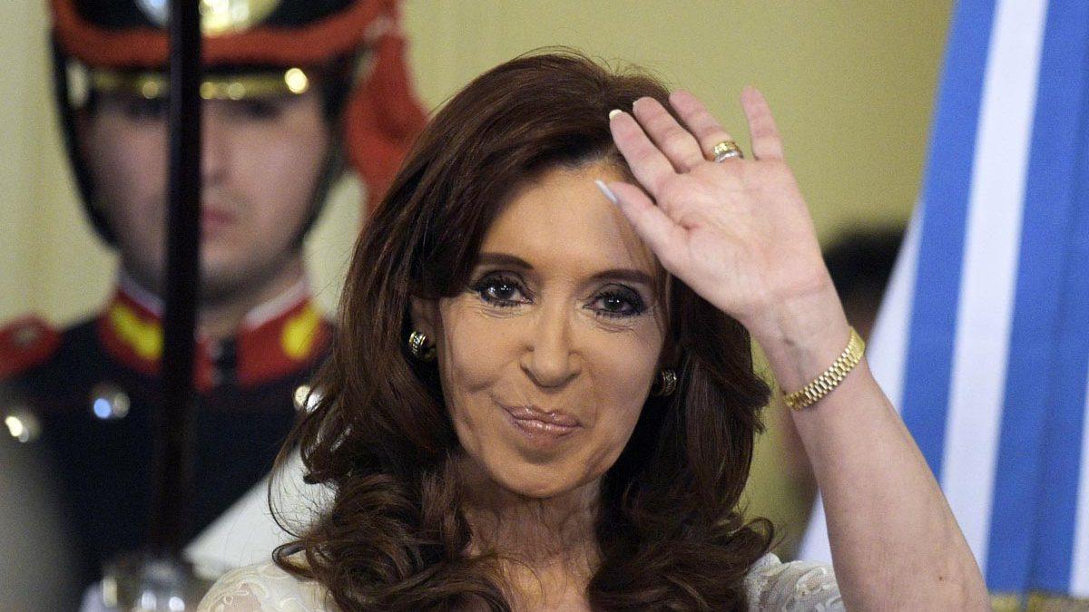 Cristina Fernández de Kirchner. (Foto: AFP)