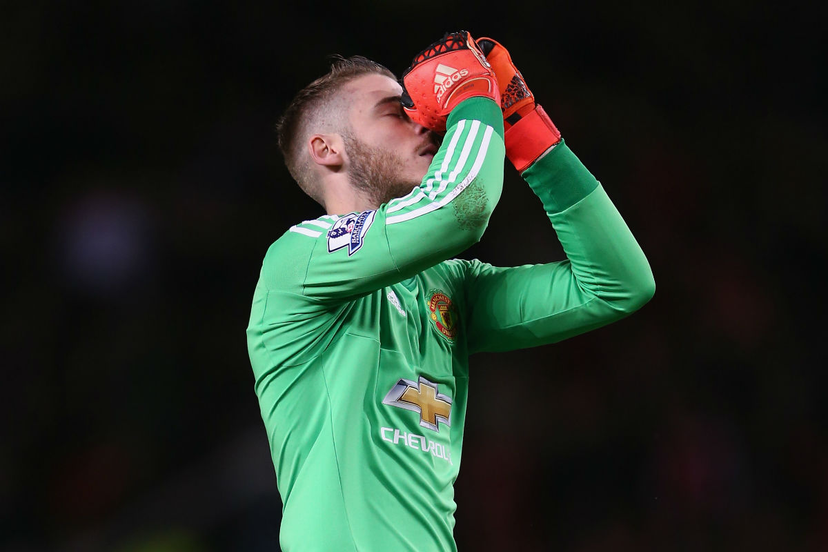 El Manchester United de De Gea se la juega en la Champions League (Getty)