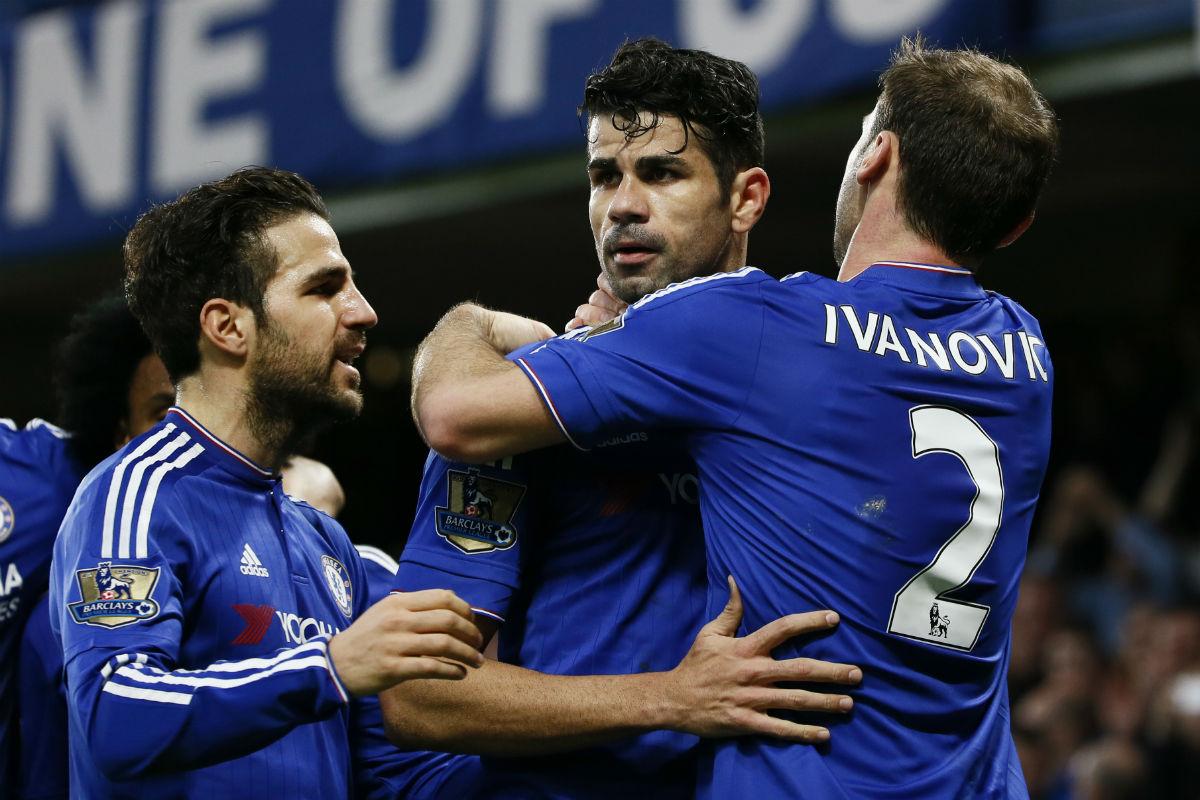 Diego Costa es el delantero titular del Chelsea. (Reuters)