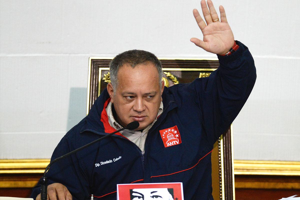 Diosdado Cabello. (Foto: AFP)