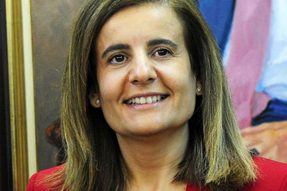 Fátima Báñez, ministra de Empleo. (Foto: AFP)