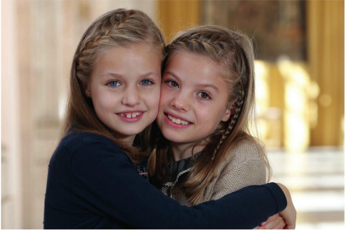 Foto de la felicitación navideña de la Casa Real
