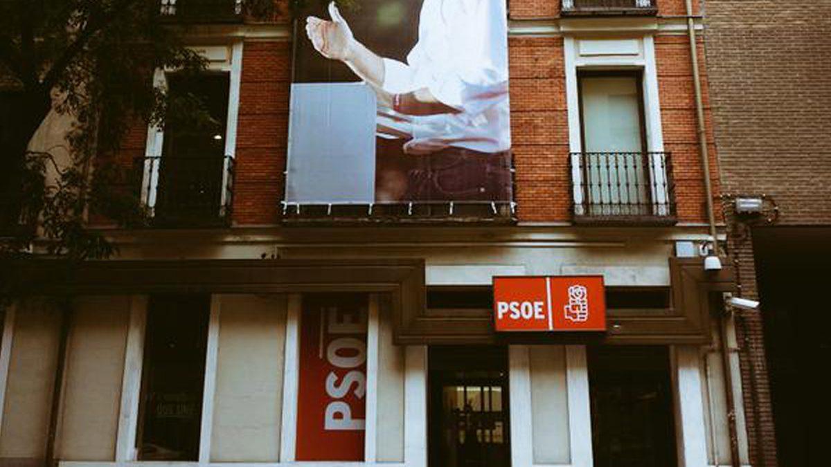 Sede del PSOE en la calle Ferraz. (Foto: EFE)