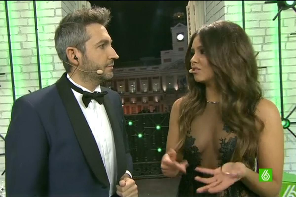 Cristina Pedroche, protagonista de la Nochevieja televisiva de 2014.