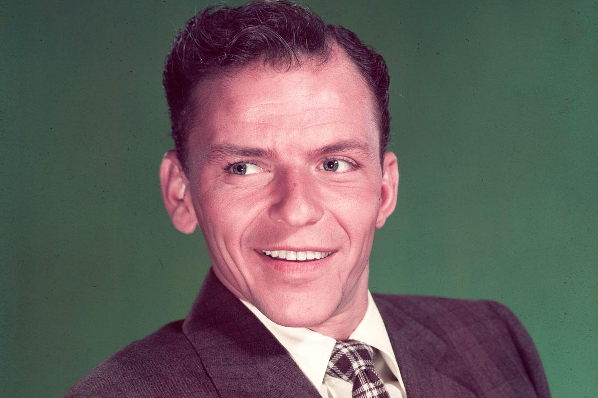 Frank Sinatra en 1949. (Foto: Getty)