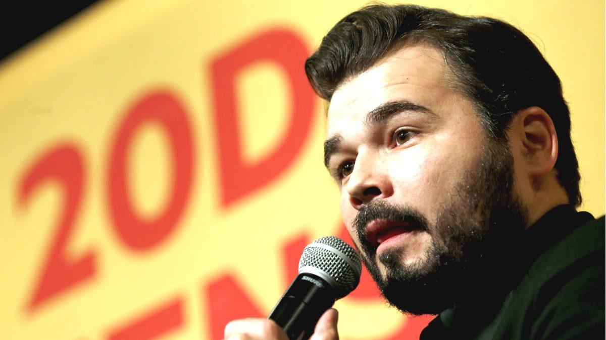 El coportavoz de ERC en el congreso, Gabriel Rufián.