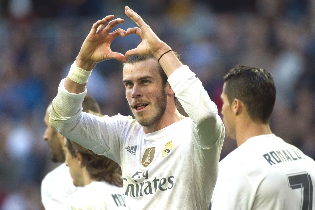 Gareth Bale marcó al Getafe (AFP)