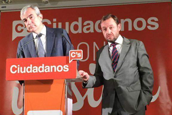 Luis Garicano y Francisco de la Torre (Foto: AJ Chinchetru).