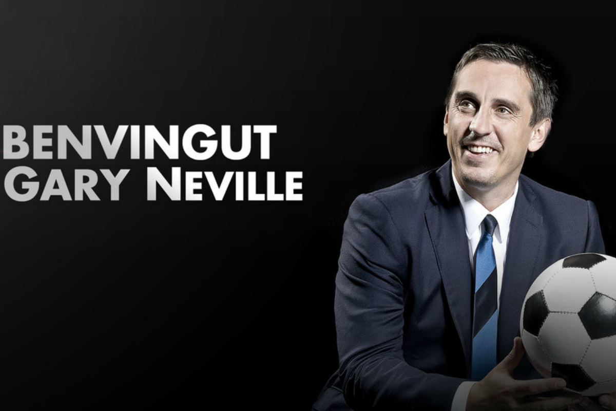 Gary Neville, nuevo entrenador del Valencia