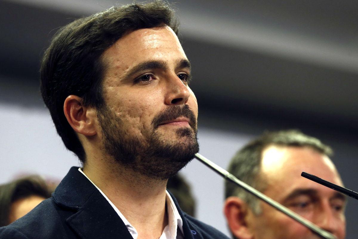 El candidato de Unidad Popular, Alberto Garzón (Foto: Efe).