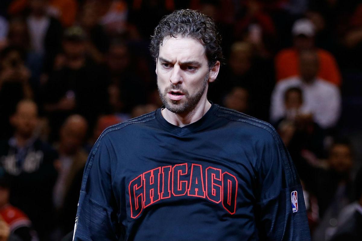 Pau Gasol, con los Chicago Bulls esta temporada.