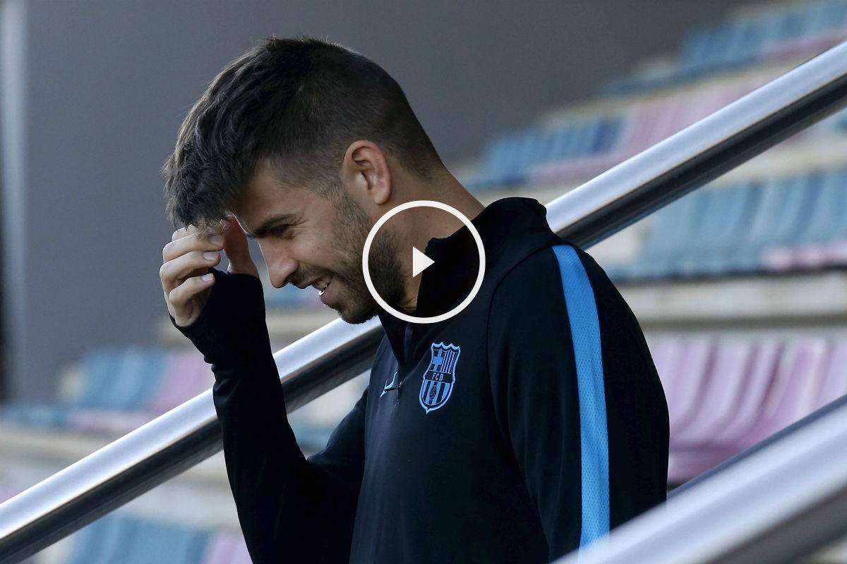 Piqué habló de Arbeloa y Sergio Ramos (Reuters)