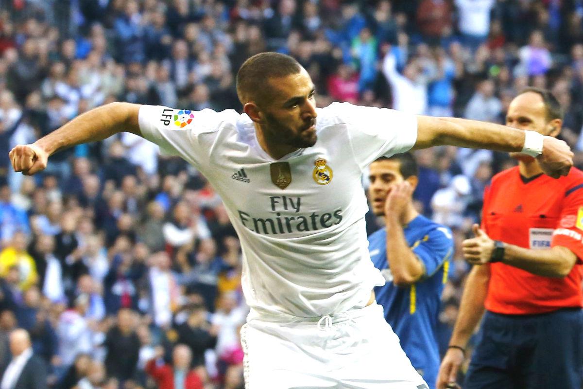 Benzema culminó el gol perfecto (EFE)