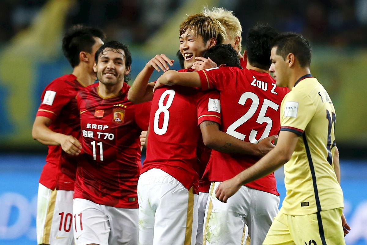 El Guangzhou venció al América mexicano (Reuters)