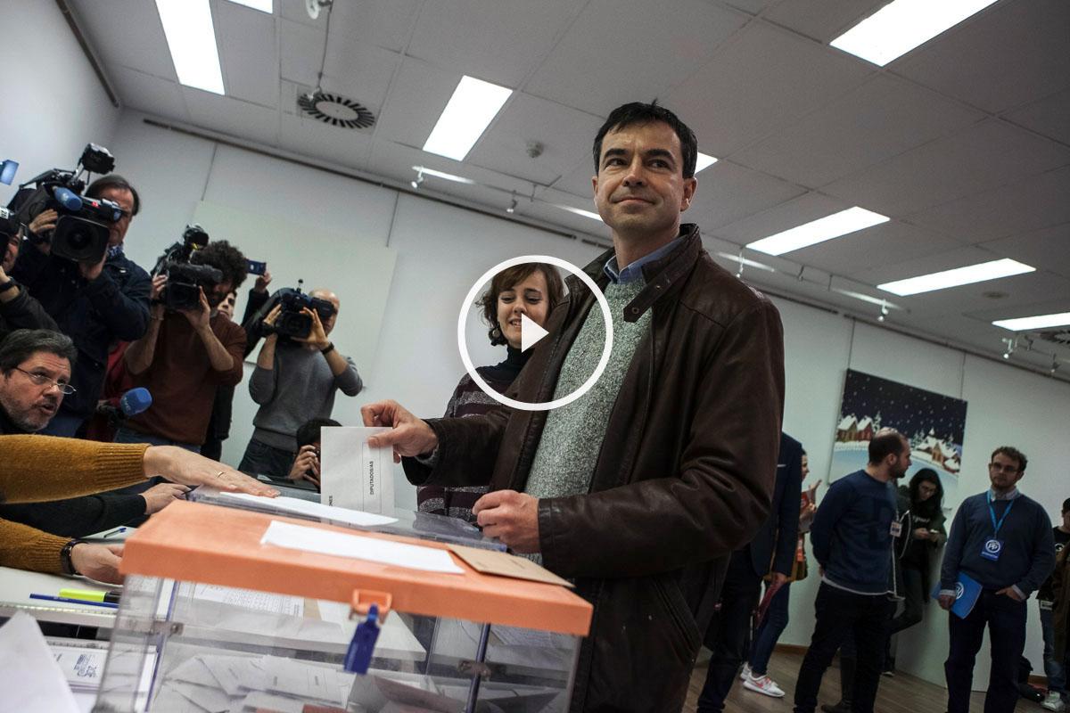 Andrés Herzog aspira a mantener a UPyD en el Congreso. (Foto: EFE)