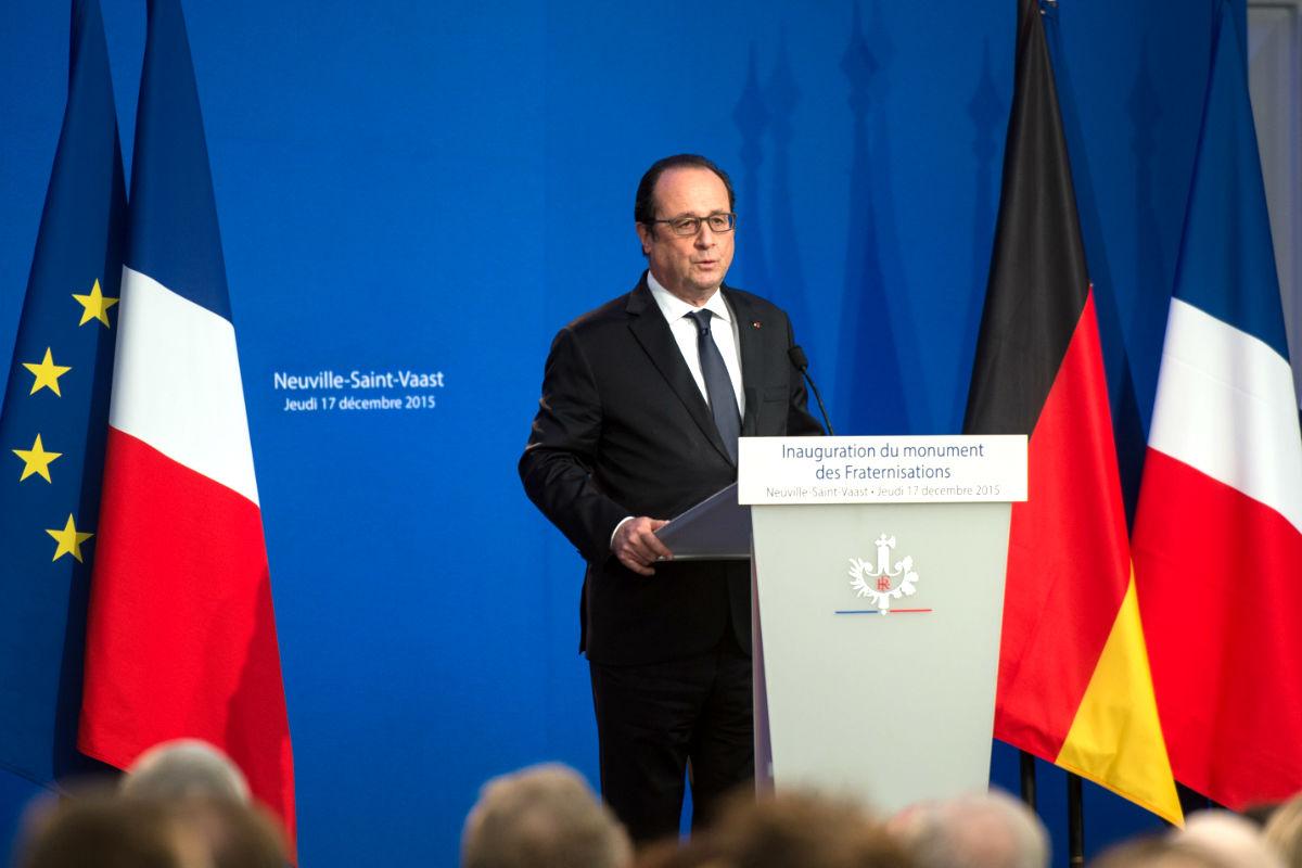 El presidente francés Françoise Hollande (Foto: AFP).