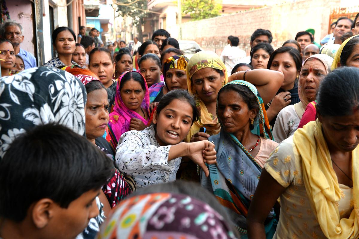 Manifestación contra las violaciones en la ciudad india de New Delhi. (Foto: AFP)