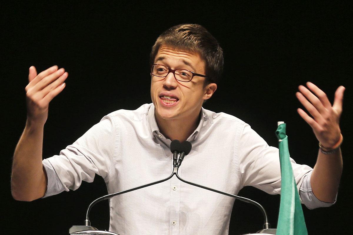Iñigo Errejón, diputado electo de Podemos. (Foto: EFE)